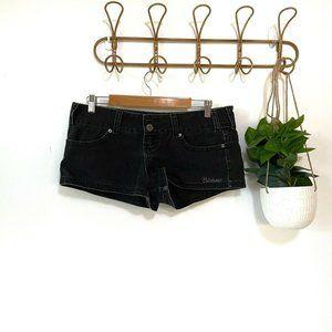 Billabong Black Denim Shorts Size 14